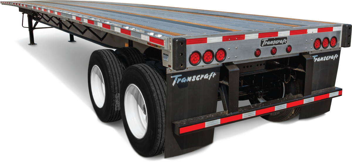 Transcraft Combo Flatbed Trailers from Wabash Canada