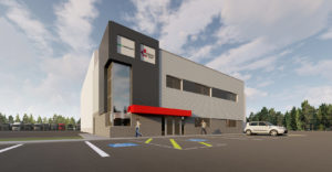 An artist's rendering of Wabash Canada's new location in Moncton, NB.