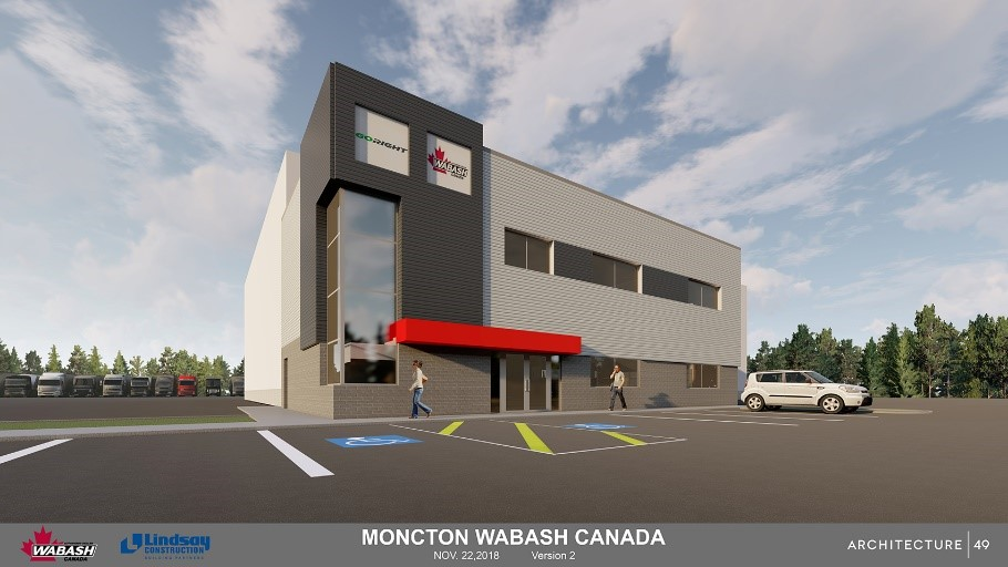 Wabash Canada and GoRight® Share Progress on New Moncton Facility