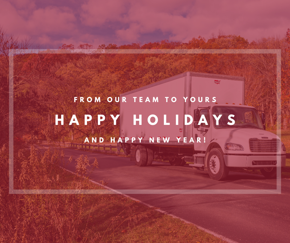 From our team to yours: Happy holidays and a happy new year!