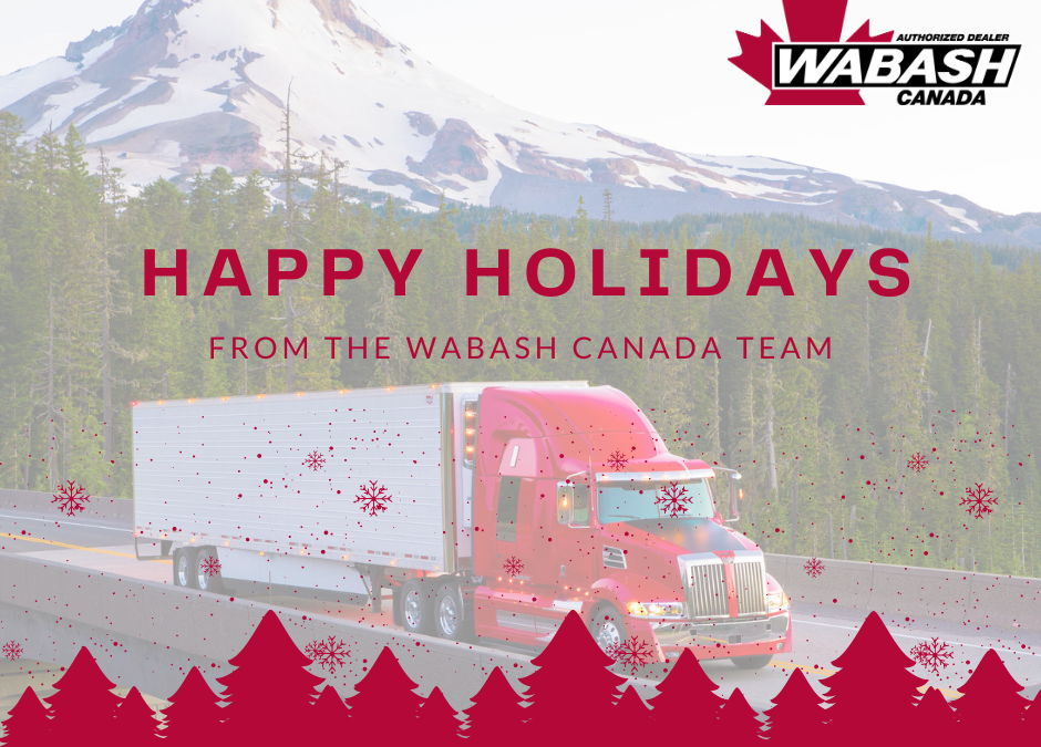 Happy Holidays from Wabash Canada